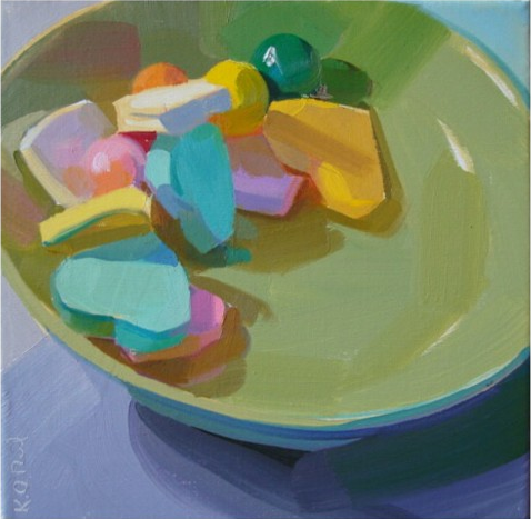 Karen O'Neil candy still life