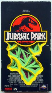 VHS Jurassic Park Art