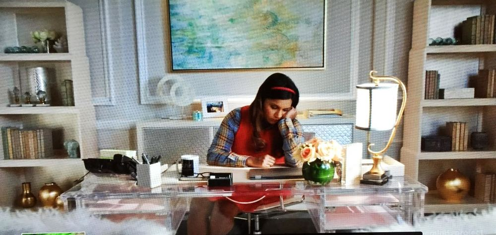 The Mindy Project office decor ideas