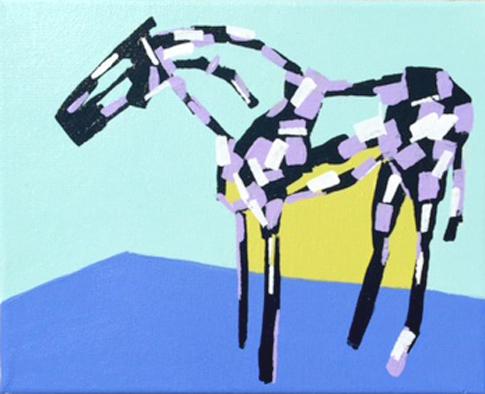 Kelpie Stephanie Jeanne horse art