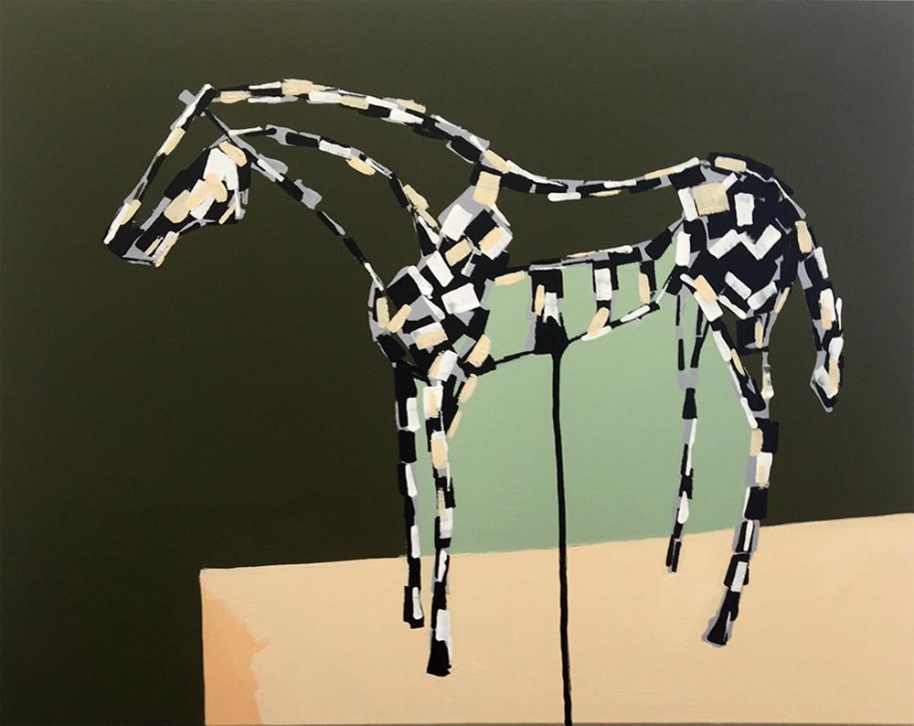 Bright Country Stephanie Jeanne horse art