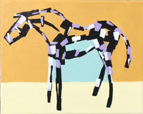 Epona Stephanie Jeanne horse art