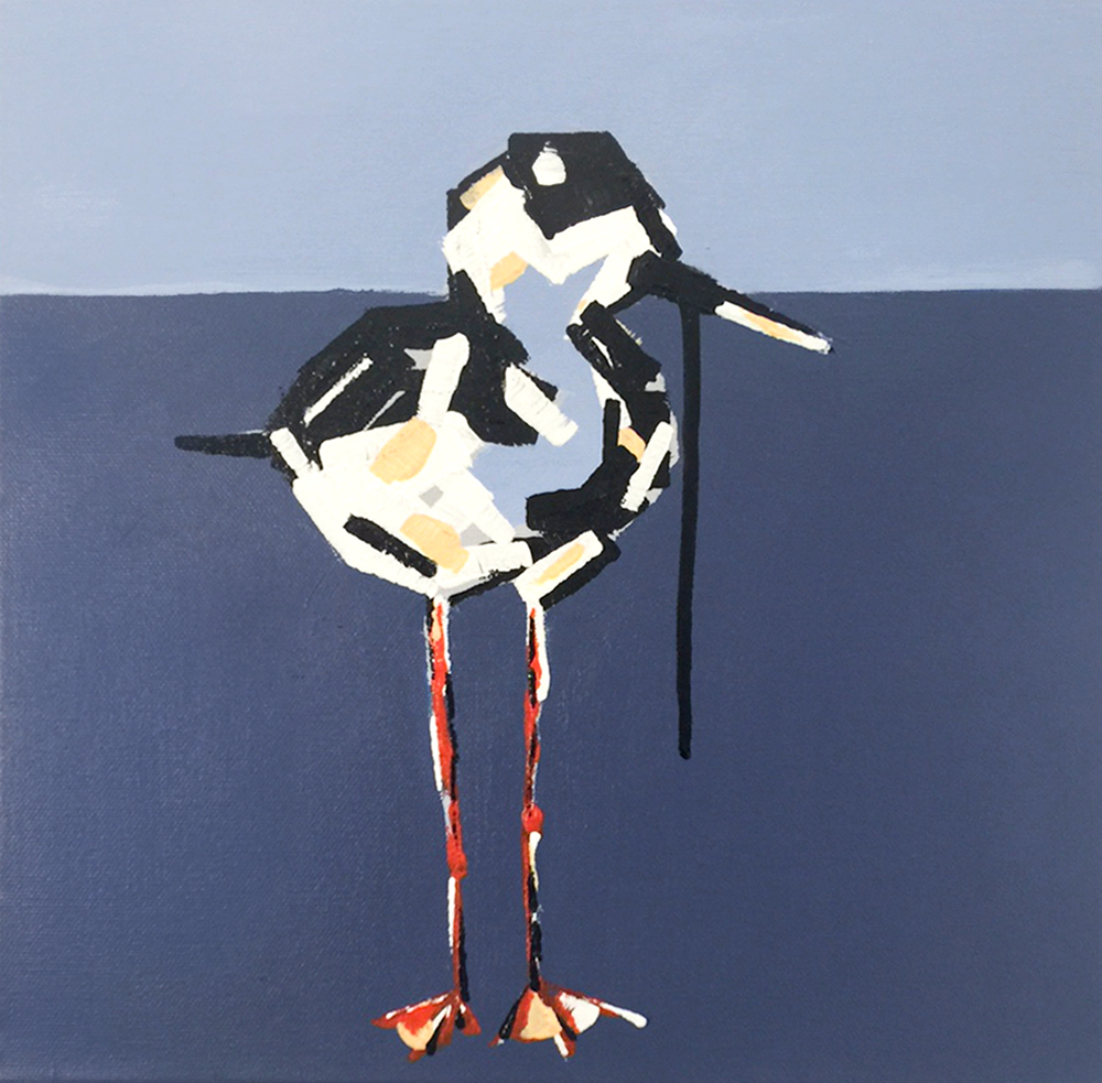 Ollie Stephanie Jeanne bird art