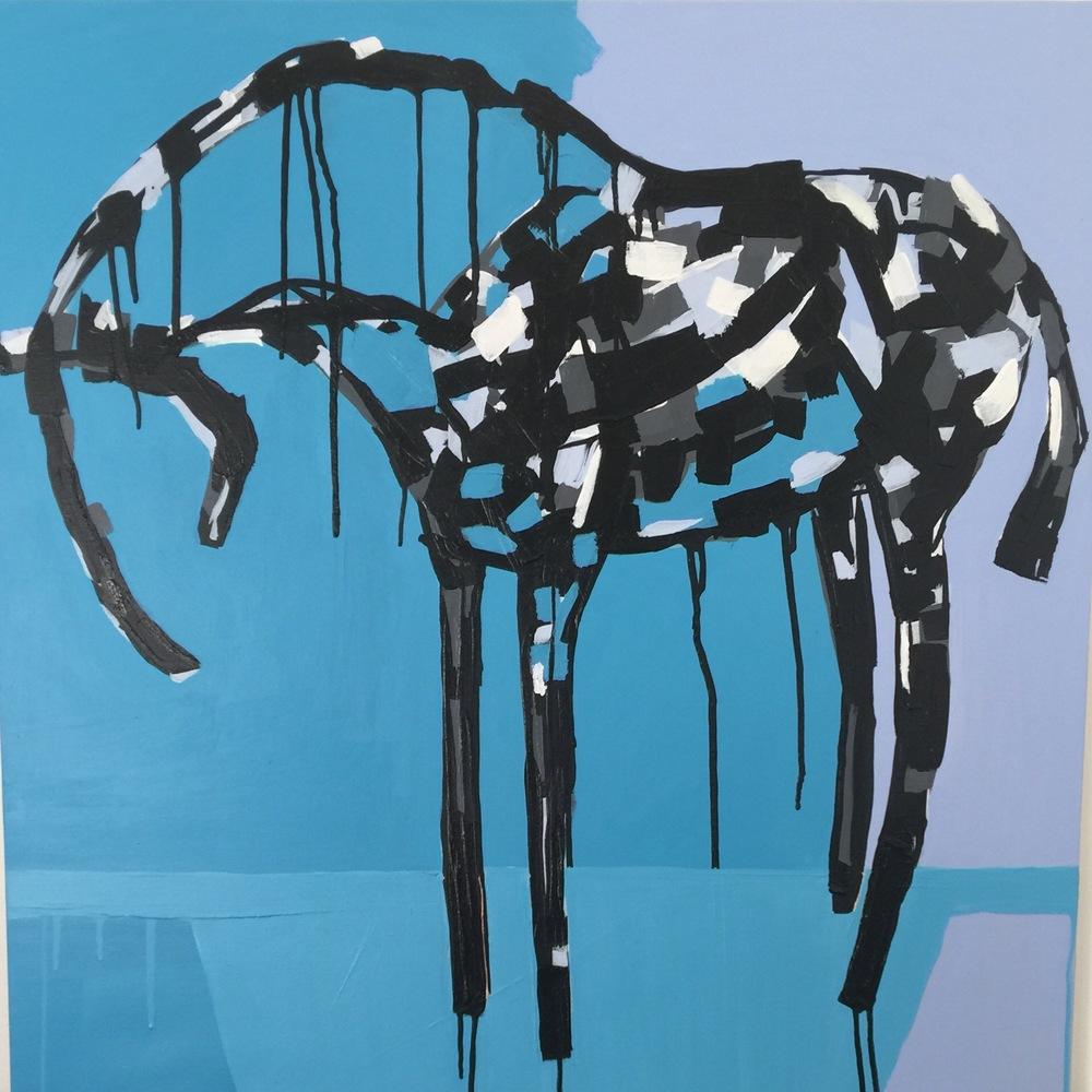 Alfonso Stephanie Jeanne horse art