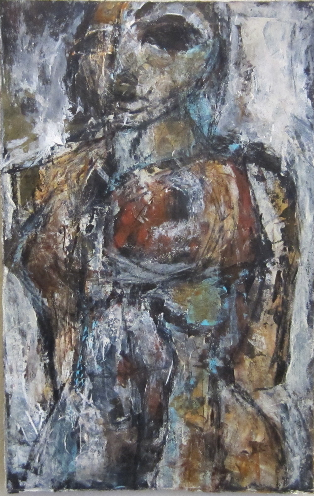 Woman with Arms Behind her Back [SOLD]