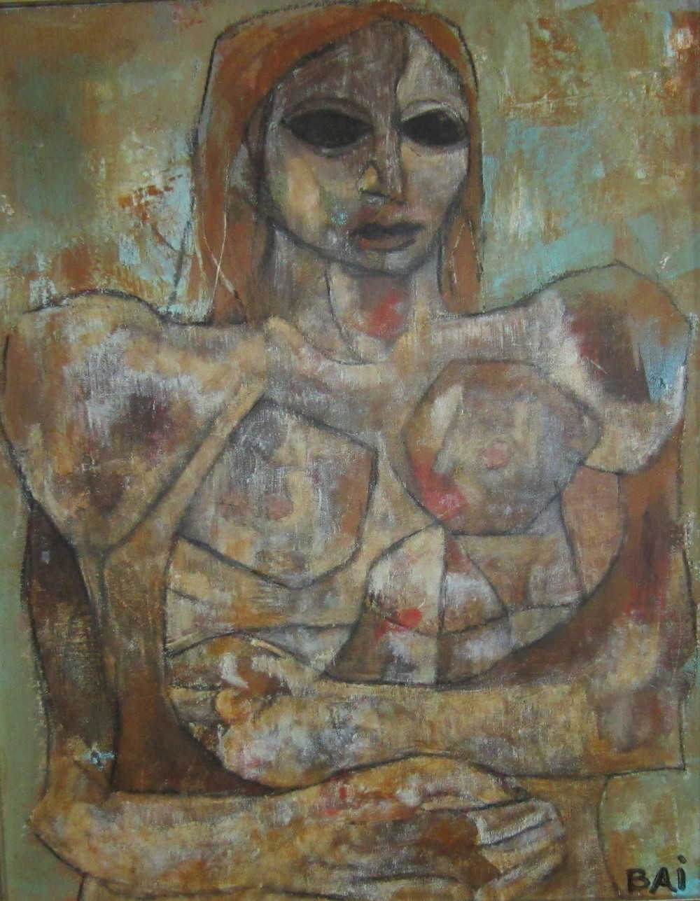CKB 12 Nude Self Embrace 20x16 (canvas board).jpg