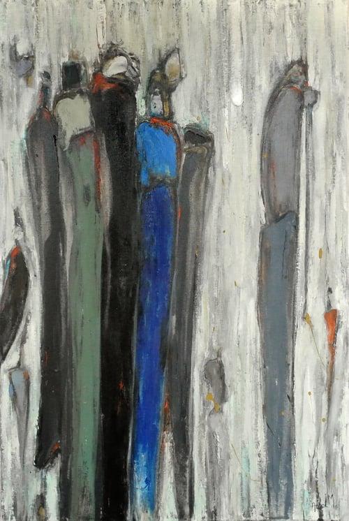 Woman in Blue Dress [SOLD]