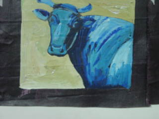 Blue Cow [SOLD]