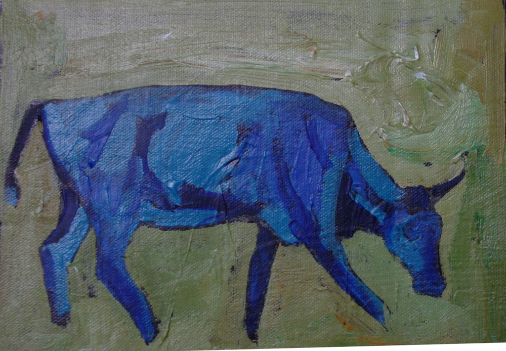 Blue Cow 2 [SOLD]