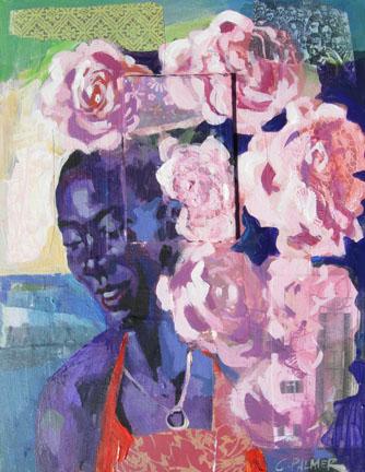 """Charley Palmer, """"In So Many Ways"""", Mixed Media on Canvas"""