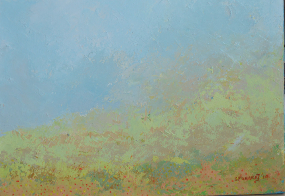 SM 03 Takes my breath away 12x16 ins 2014 Acrylic on canvas.JPG