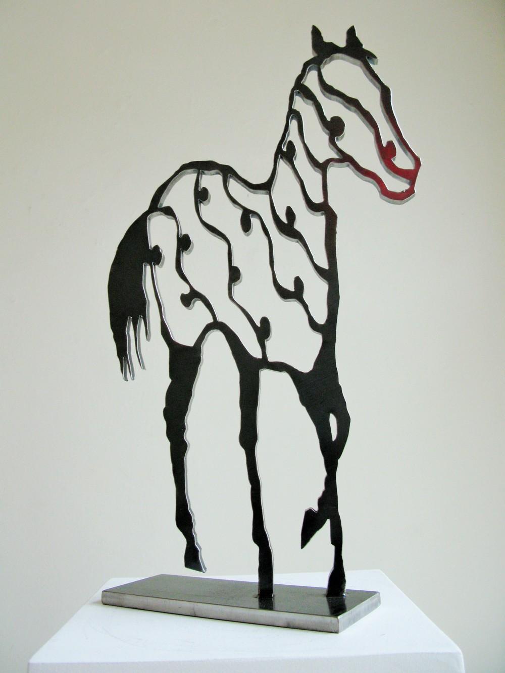 JK 01 Horse in Motion 22x12x4.JPG