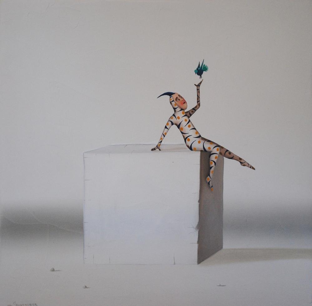 MS 10 The bird_12x12in.JPG