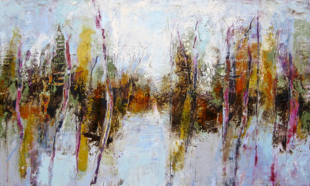 """Copy of To the Pond, 30"""" x 60"""""""