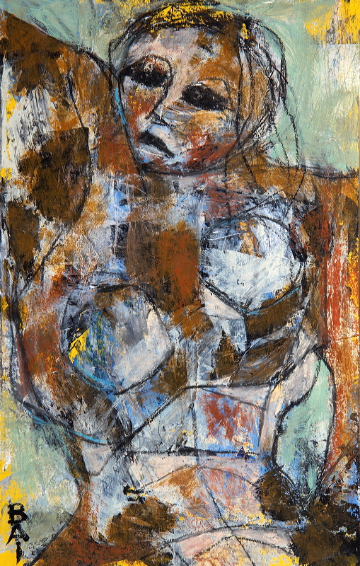 """Copy of Untitled Nude, 11"""" x 7"""""""