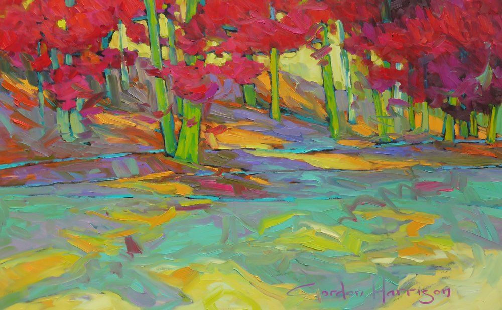 """Copy of Autumn Poetry Collection, 30"""" x 48"""""""