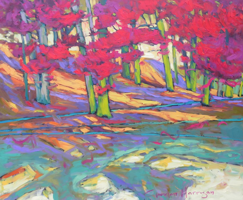 """Copy of Autumn Poetry Collection, 40"""" x 48"""""""