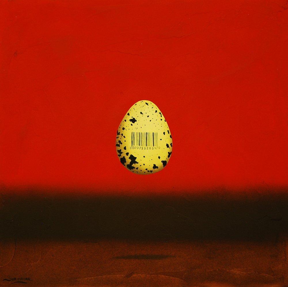 """El huevo II 12"""" x 12"""""""
