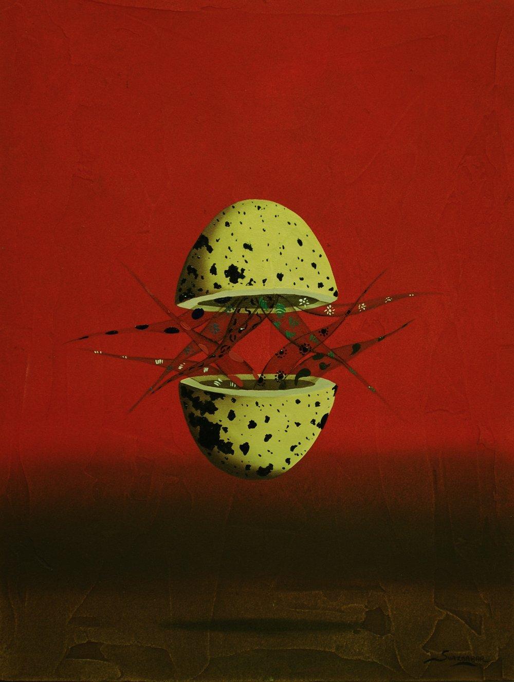 """El huevo III 12"""" x 9"""""""