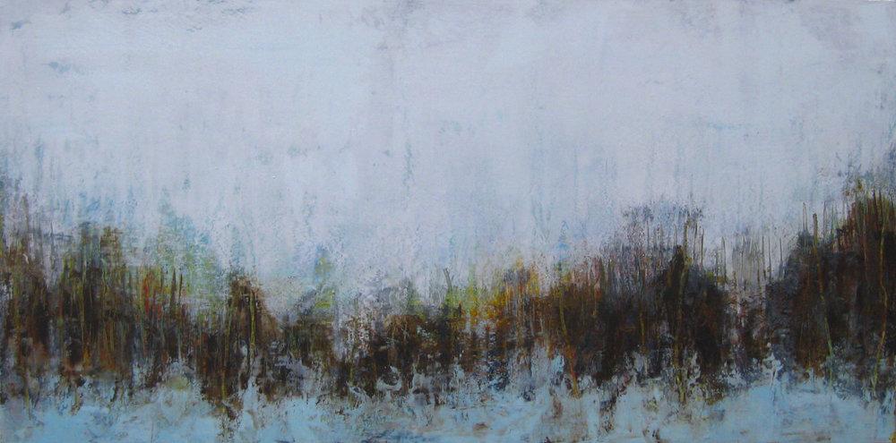 """Horizon, oil on panel, 36"""" x 60"""""""