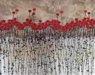 """Flower Landscape I 40"""" x 60"""""""