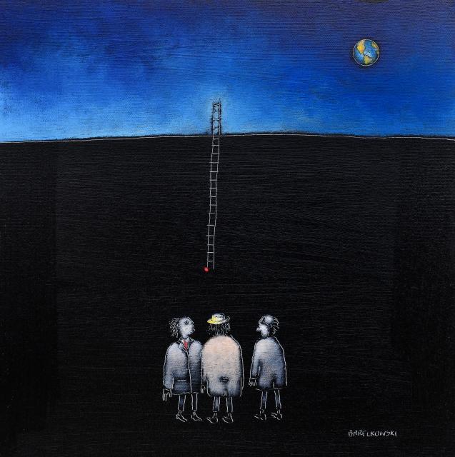 Untitled (Dilemma), 30 x 30 cm