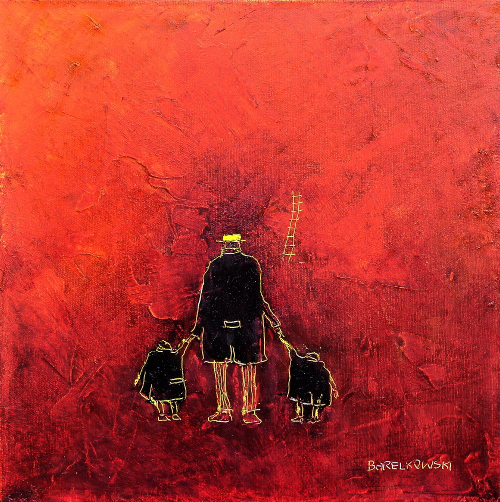 Untitled (Safety), 30 x 30