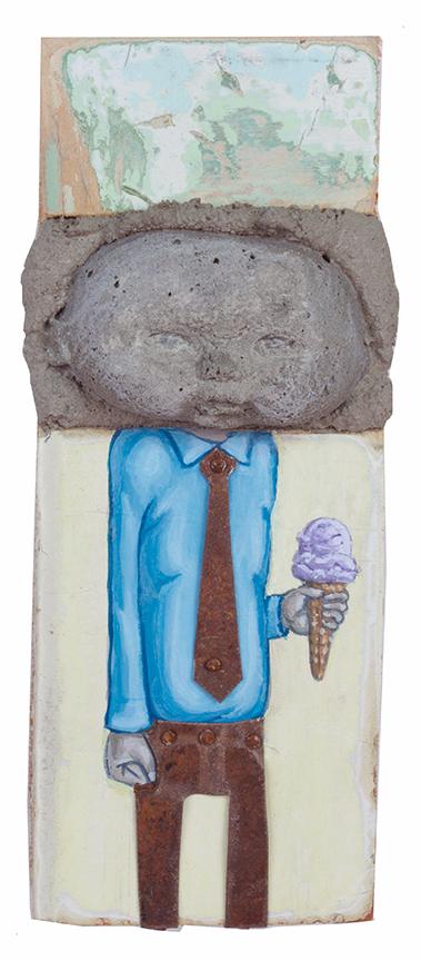 Ice Cream, 16 x 5 cm