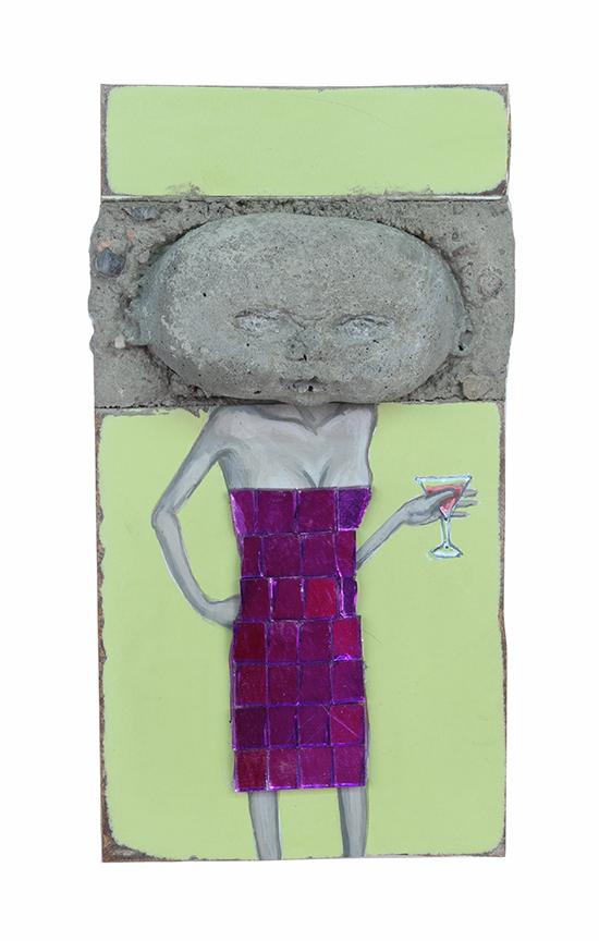 Cocktail Dress, 11 x 6