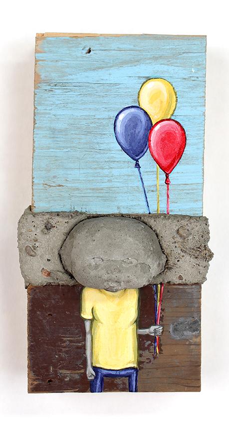 Balloons, 15 x 8 cm