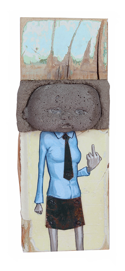 """Copy of The Finger, 6"""" x 2"""""""