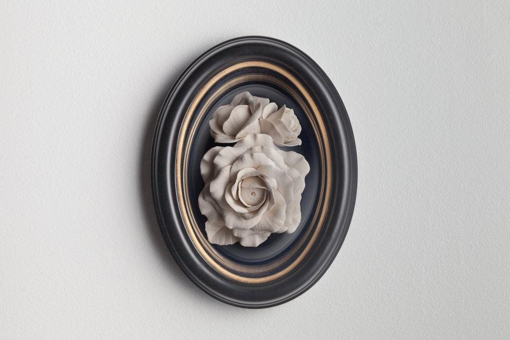 Blooming Eye Rose, 18 x 13 cm