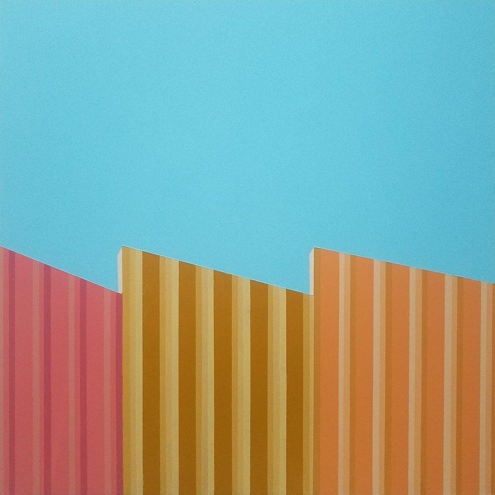 Walls, 41 x 41 cm