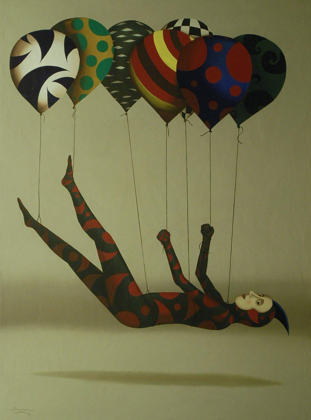 Floating, 122 x 91 cm