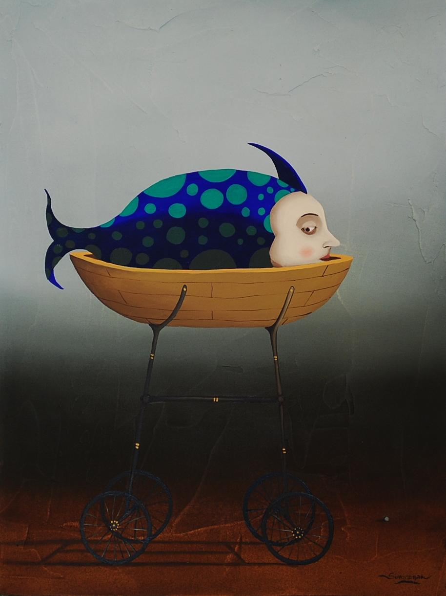 Fish, 30 x 23 cm