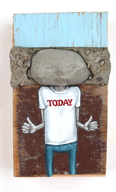 Today, 13 x 8 cm