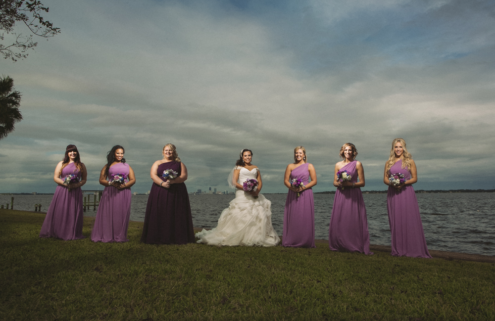 11 bridal party