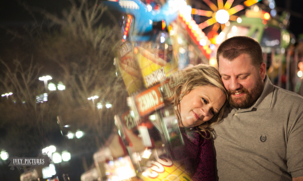 13 creative carnival engagement session
