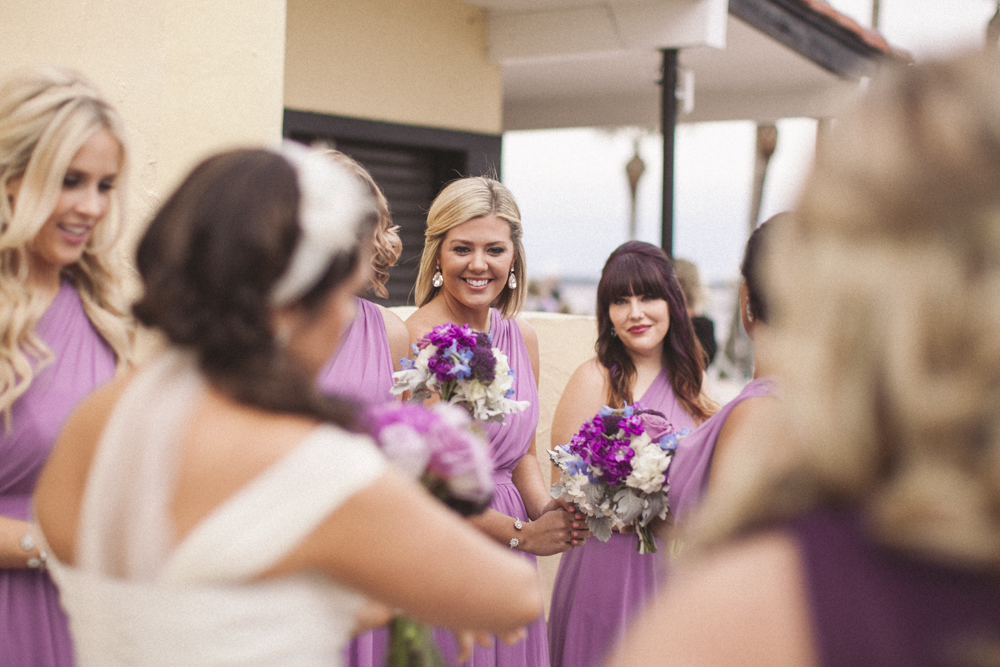 16 bridesmaid before ceremony