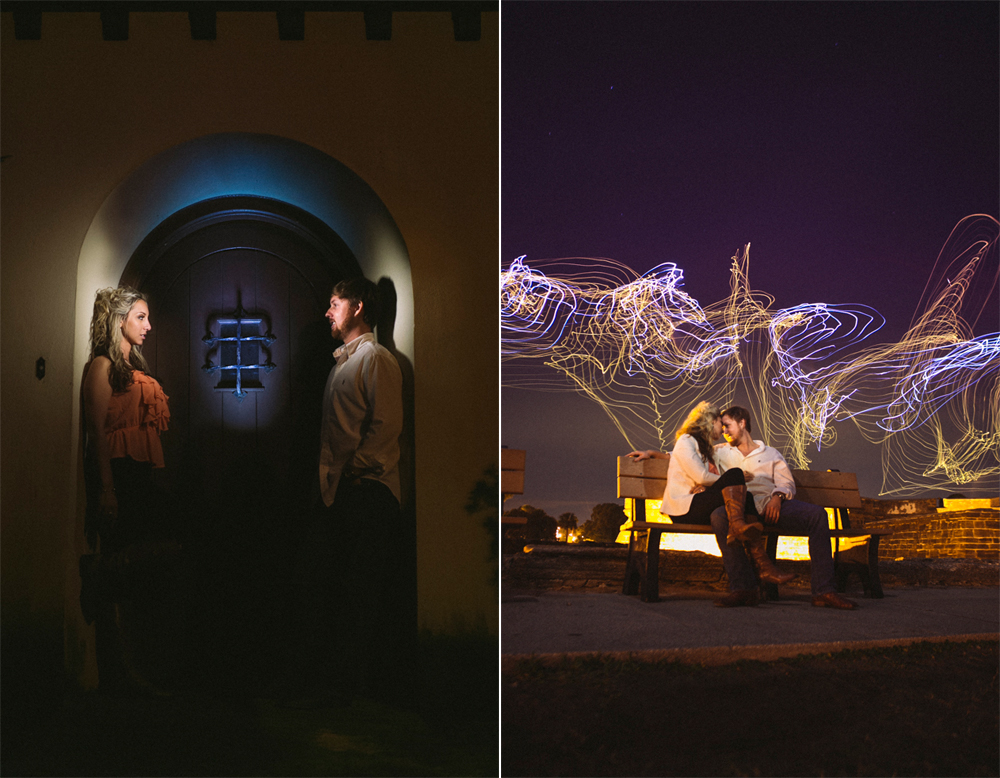 7 creative engagement session lighting