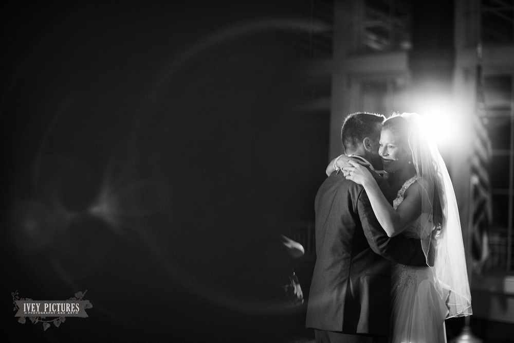 first dance at The World Golf Village Clubhouse
