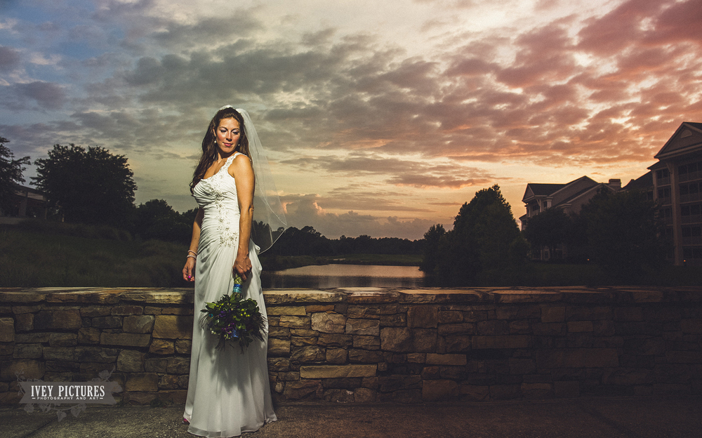 Bridal Portrait at World Golf Village Jacksonville