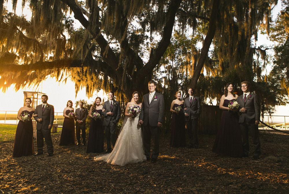 Amelia Island Walker's Landing Wedding Photo