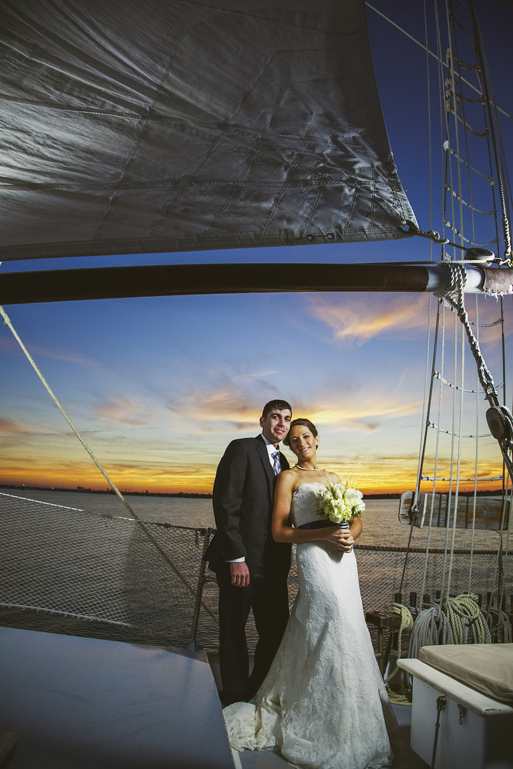 The Schooner Freedom Wedding Photo St. Augustine Fl.