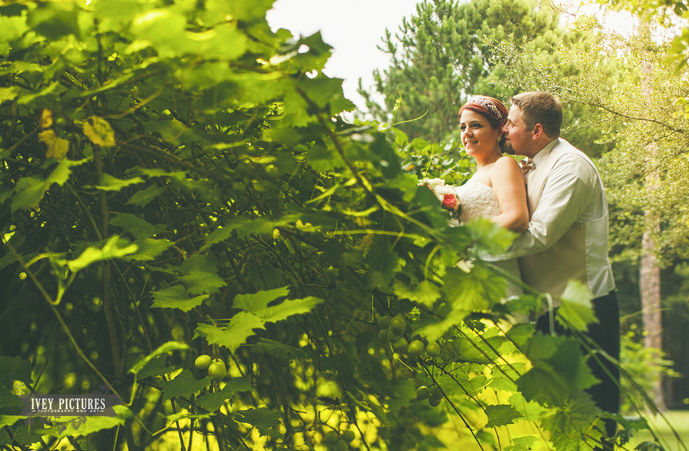 Wedding with Grape Vines