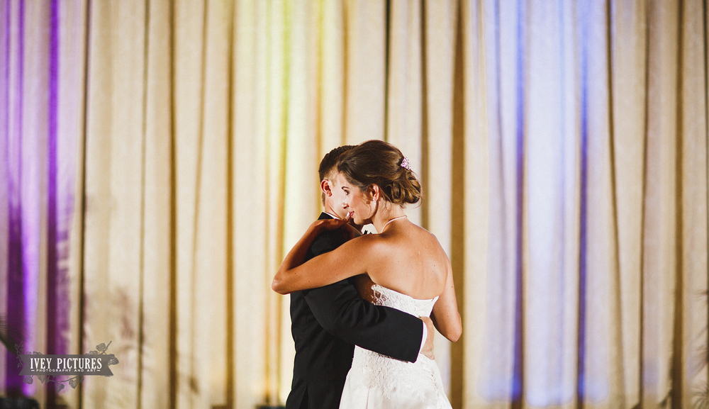 first dance photo at florida yacht club