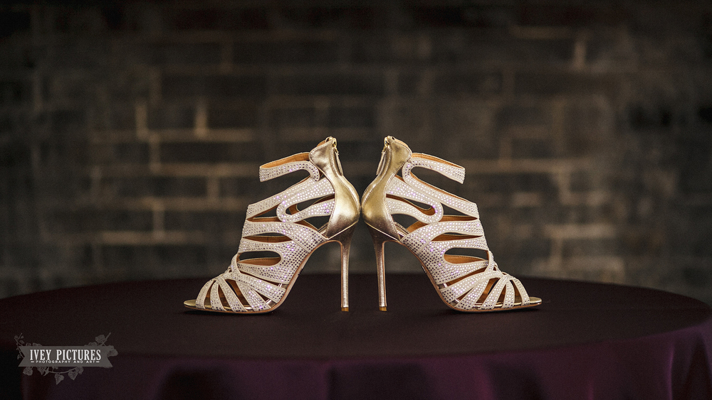 Wedding Shoes at The Ribault Club