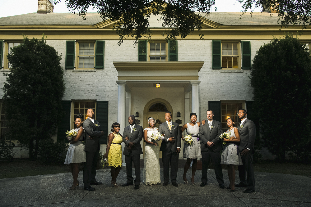 The Ribault Club Wedding Photo