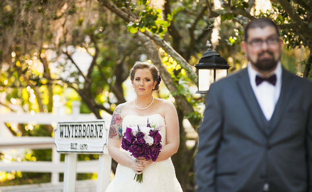 The Winterbourne Inn Wedding Photo