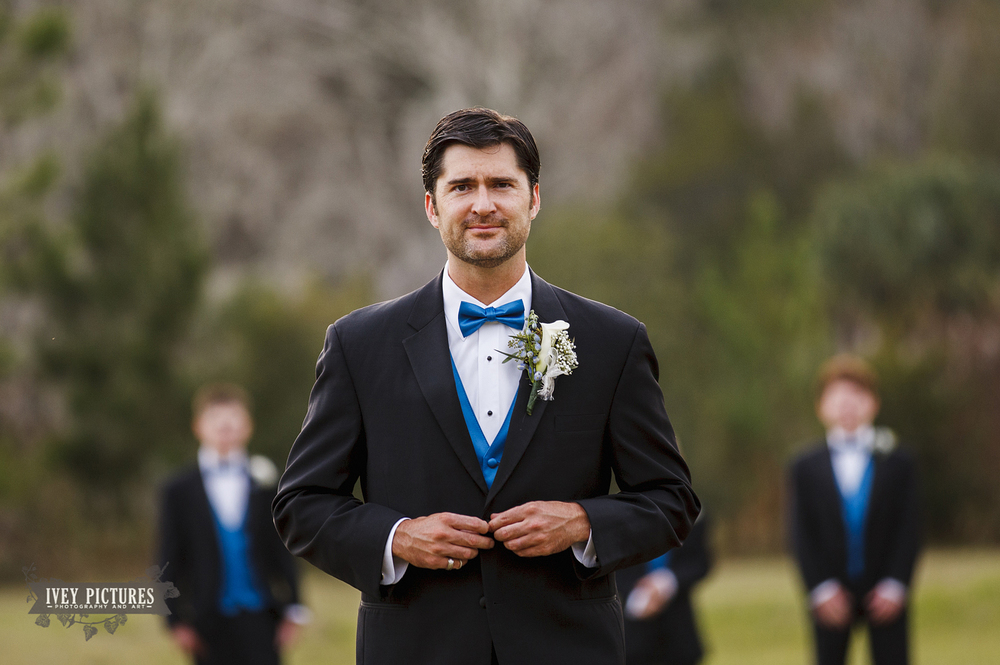 groom portrait at Ramona Pavilion Jacksonville